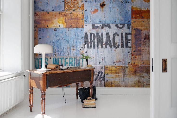 Hey,+look+at+this+wallpaper+from+Rebel+Walls,+Steel+Plates!+#rebelwalls+#wallpaper+#wallmurals