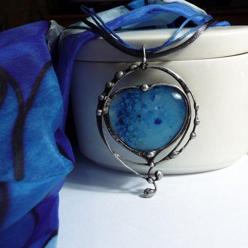 """Cínovaný náhrdelník   \""""Láska mořské víly\"""""""