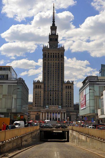Warsaw: Palac Kultury