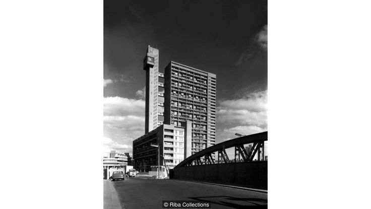 Trellick Tower, London, England, UK, 1972 by Ernö Goldfinger (Credit: Credit: Riba Collections)