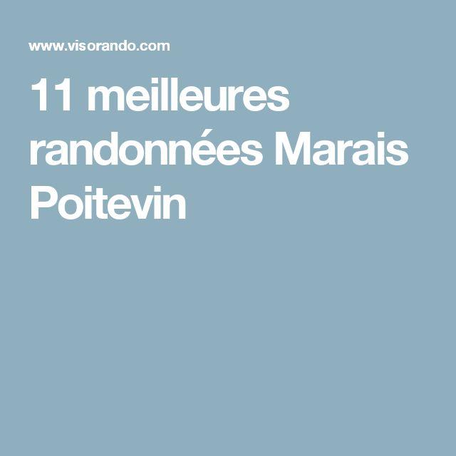 11 meilleures randonnées Marais Poitevin