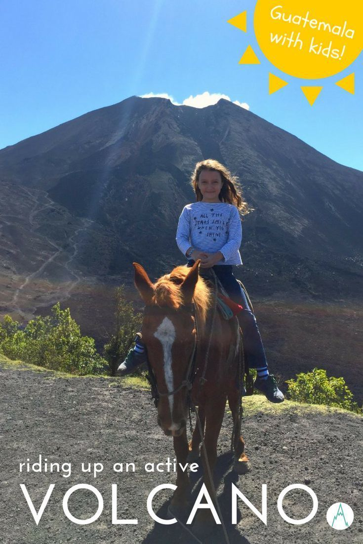 Guatemala With Kids: Climbing the (active!) Pacaya Volcano. I was curious to check out Pacaya Volcano after friends told us they had ridden to the top with their three kids and roasted marshmallows on the hot lava rocks at the summit. This is how we got on... | Guatemala With Kids | Family Travel