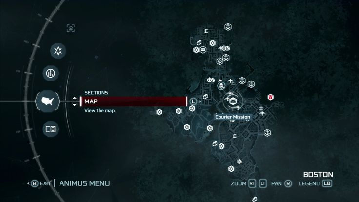 Assassins Creed Menu
