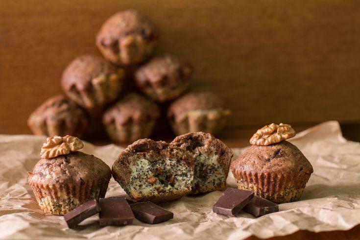 Makové muffiny - Fitrecepty.info - Pojďte s námi zdravě jíst a být fit!