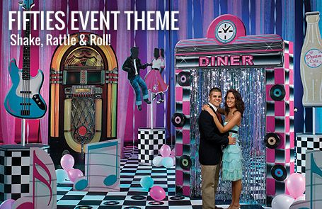Fifties Event Theme, Fifties Theme Party