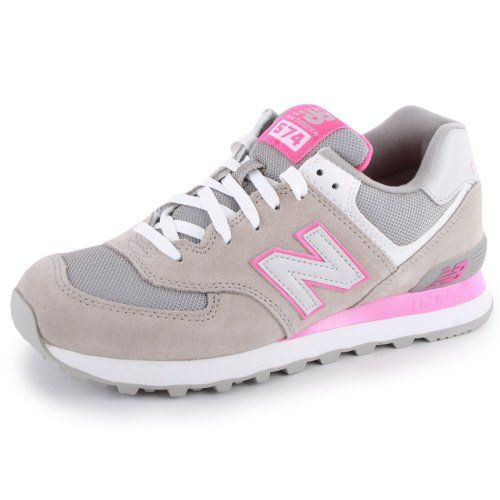 New Balance 574 Zapatillas Deportivas de Ante y Malla para Mujer. Zapatos y complementos.