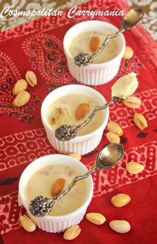 Bhapa Doi: This vegetarian and gluten-free Bengali (Indian) festive dessert is made with steamed yogurt or curd. With no fancy ingredient as such, this traditional and delicious sweet is very easy to make.  http://www.cosmopolitancurrymania.com/bhapa-doi-festive-indian-recipe-1/