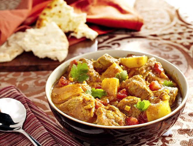 This fragrant and slightly spicy Lamb Vindaloo recipe is a classic Indian dish that will fill your kitchen with an exotic fragrance as it gently simmers.