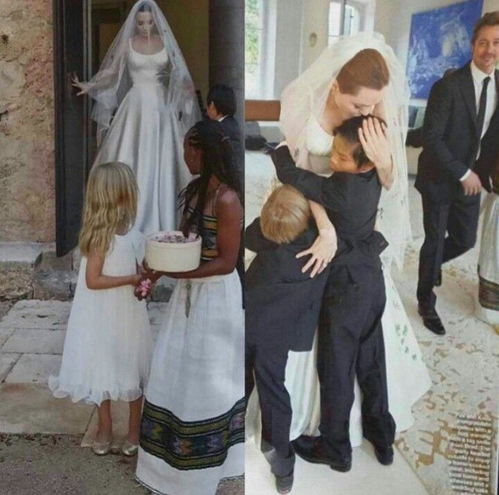 Brad Pitt And Angelina Jolie Wedding Pictures: Brad And Angelina Wedding