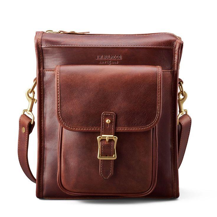Editor Crossbody | Brown Leather | J.W. Hulme Co.