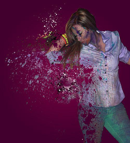 Splatter Effect