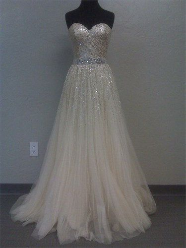 Charming Sweetheart tulle Prom Dress/evening dress/long prom dress/wedding dress/party dress
