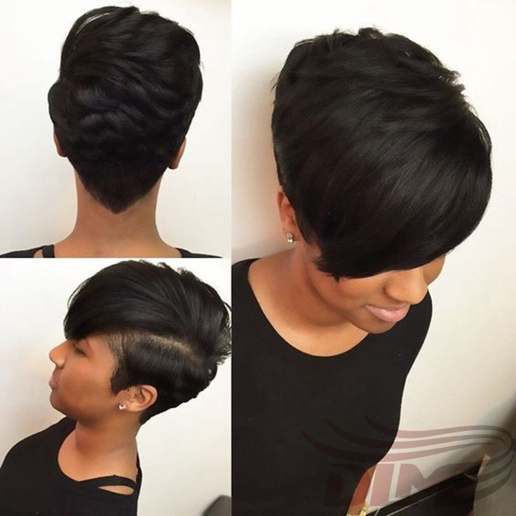 Short Bob Hair For Black Women Cheap Natural Black Straight Hair 27 Pieces Hair Extension Charming Celebrity Short Weave HairCut
