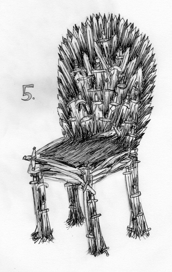 05- Iron Chair by Dz-Drawing