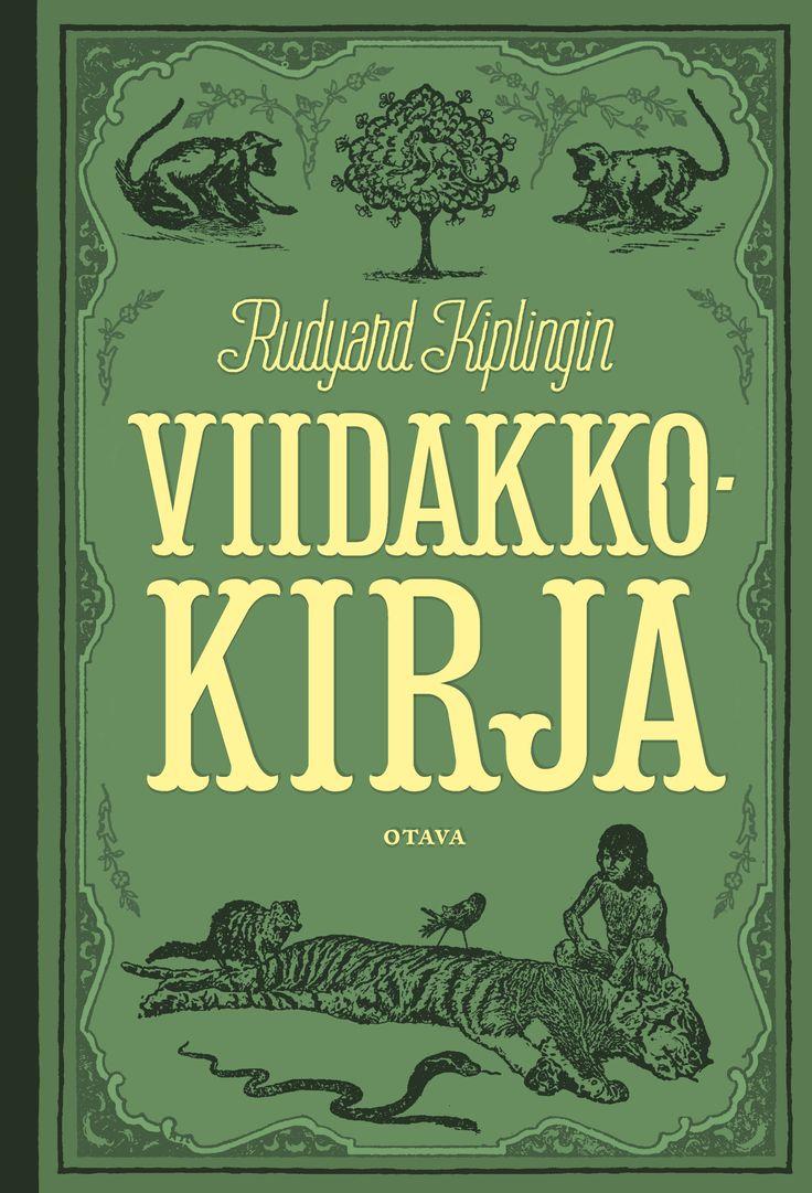 Title: Viidakkokirja   Author: Rudyard Kipling   Designer: Markus Pyörälä