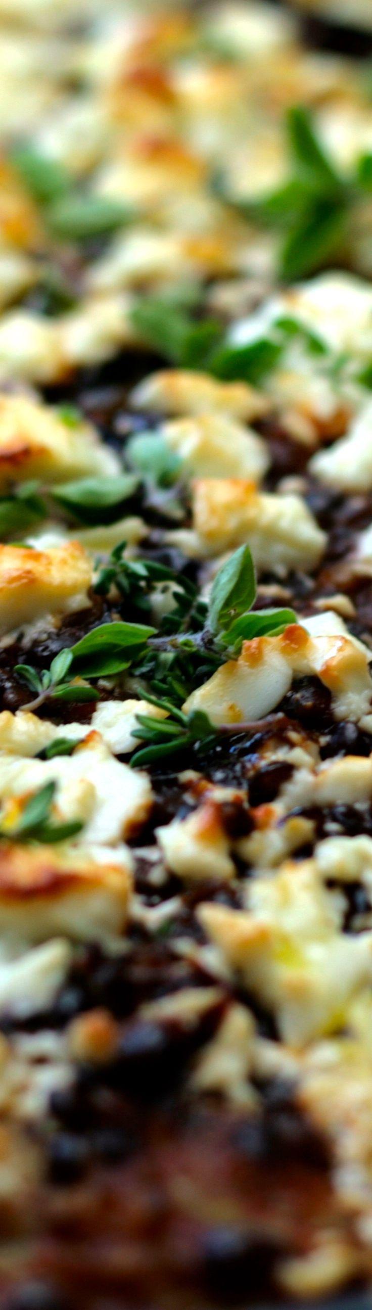 Vegetarische Moussaka - mit Beluga Linsen