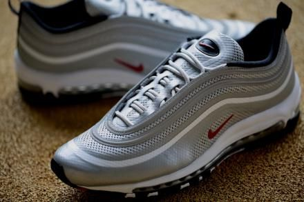 Had this before....my favorite running shoes. I'm missing this...NIKE AIR MAX 97 HYPERFUSE PREMIUM METALLIC SILVER/VARSITY RED-BLACK