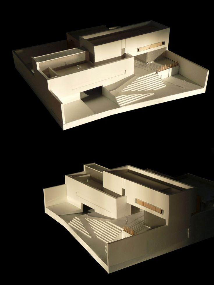 Edificio Sede del Colegio de Arquitectos de San Luis Potosí / x-studio © Iván Juárez, maqueta, architectural model