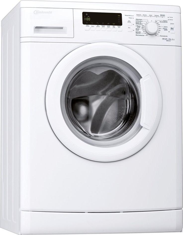 #Angebot Bauknecht WAK 63 Waschmaschine FL / A+++ / 147 kWh/Jahr / 1400 UpM / 6 kg / 8200 L/Jahr / Mengenautomatik /Unterbaufähig / weiß: Amazon.de: Elektro-Großgeräte