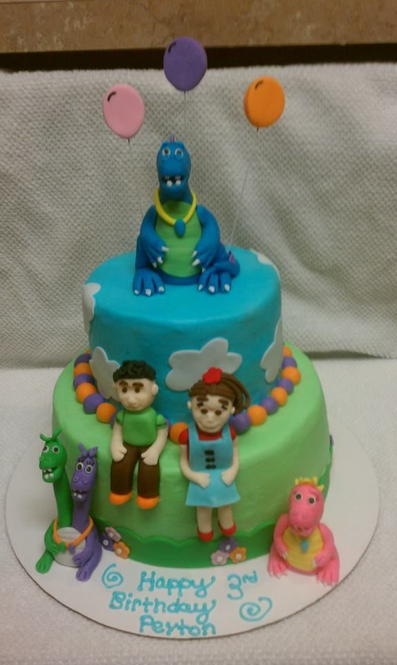 Dragon Tales Cake Frosted Friends Bakery Cakes
