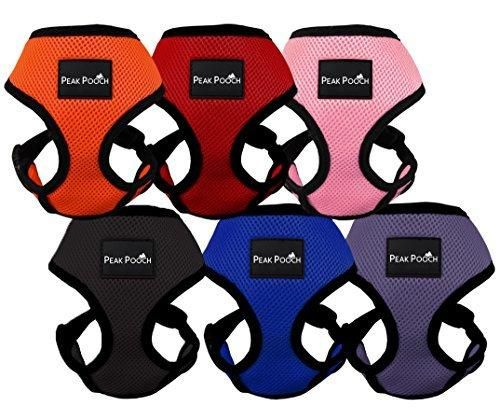 Comfort Control Dog Walking Harness Support Mesh Padded Vest Accessory Collar Lightweight No More Pulling Tugging or Choking for Puppies Small Dogs (Black Small) by Downtown Pet Supply