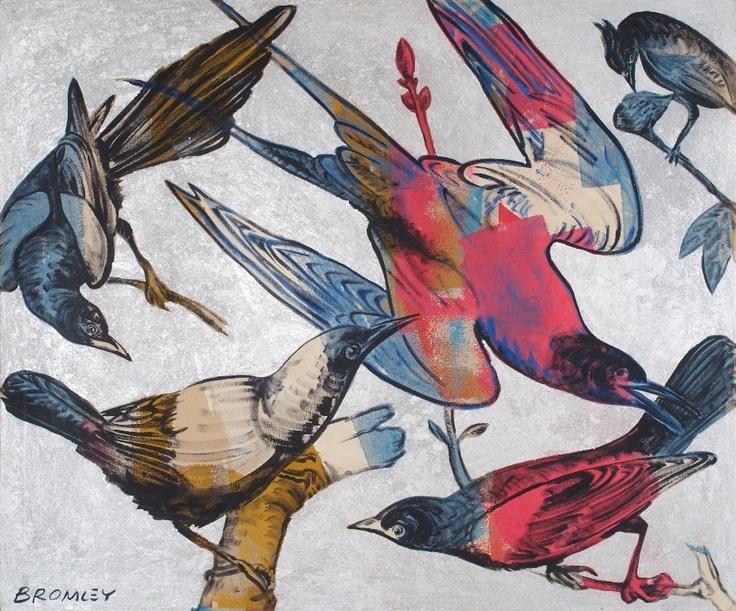 Silver Birds - David Bromley