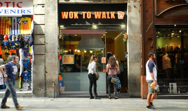 Valse d'Amélie: CONOCIENDO BARCELONA, WOK TO WALK