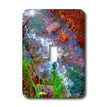 3dRose - Jos Fauxtographee Realistic - A stream running through the Dixie National Forest in Utah - Light Switch Covers