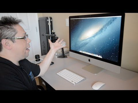"iMac 27"" Unboxing, $300.00 Savings. Ram Upgrade, Speed Test, SSD vs Fusion"