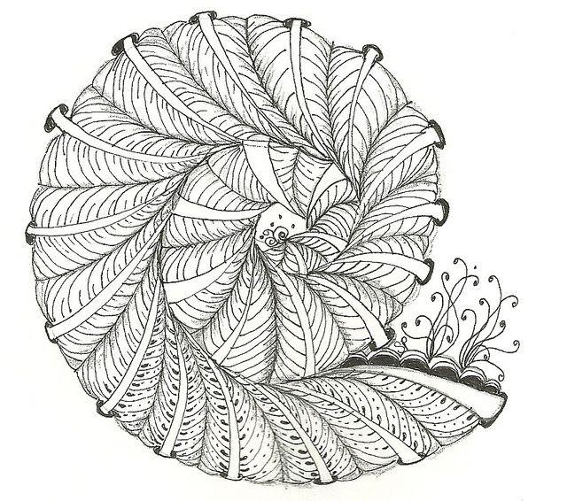 Zentangle Doodling | Zentangle - Doodles | Zentangle/Doodles