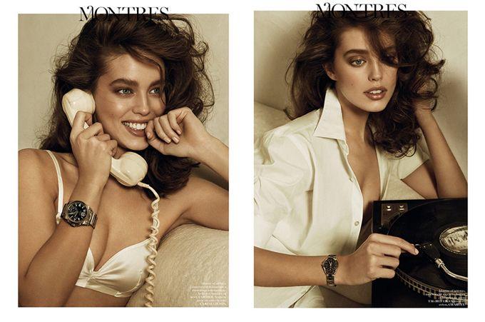 Эмили ДиДонато для Vogue France