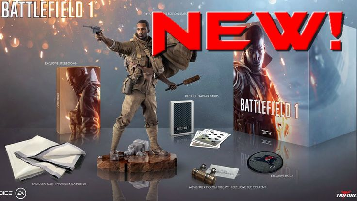 Battlefield1 Collectors Edition Revealed NEW LEAK RELEASE