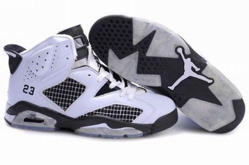 30% OFF Men\u0027s Nike Air Jordan 6 Shoes White/Black $89.98
