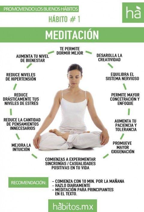 Los beneficios de la #meditación. #salud