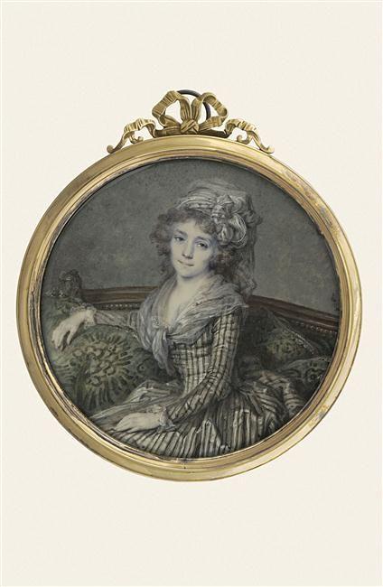 Réunion des Musées Nationaux-Grand Palais - Jeune femme assise sur un canapé, Dumont François, l'Aîné (1751-1831).
