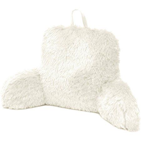 Formula Longhair Faux Fur Backrest Pillow - Walmart.com