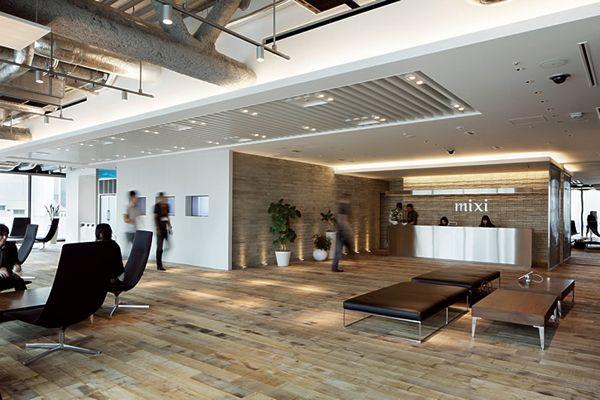 こんなオフィスで働きたい!国内IT企業のお洒落すぎるオフィス19社