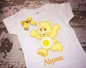 Care Bears Sunshine Bear T-Shirt with Bow