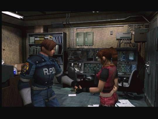 Resident Evil 2 Game Screenshots