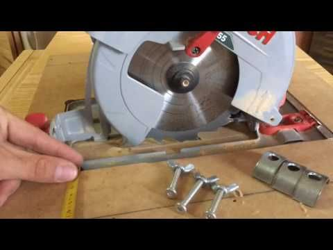 Homemade table saw. Time-Lapse. Sierra de mesa casera. Part 1. - YouTube