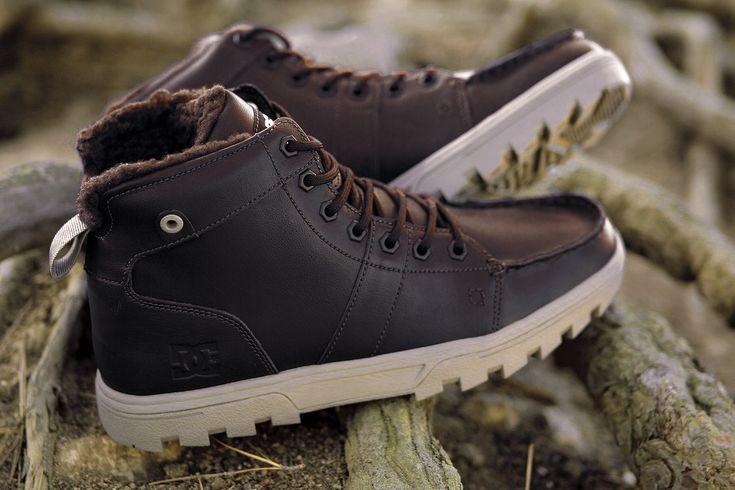 DC Shoes, DC boots, DC Woodland Brown/Tan