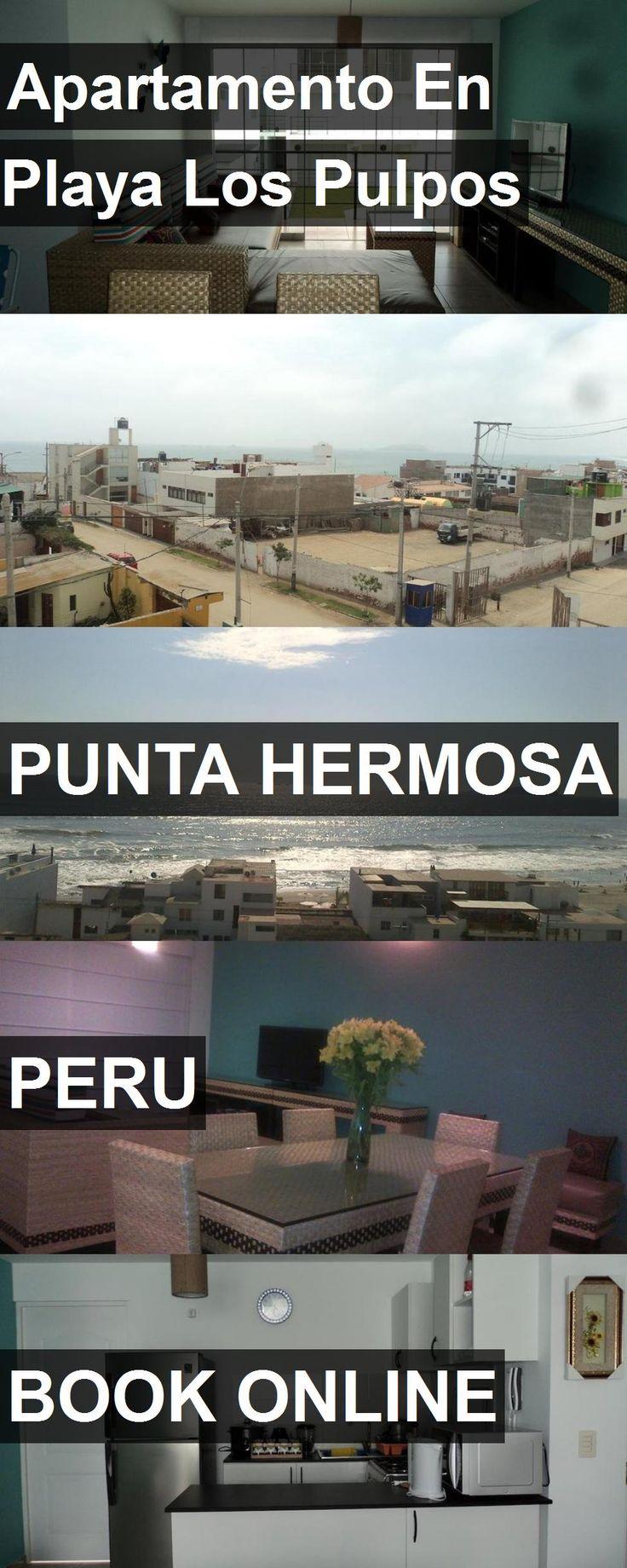 Hotel Apartamento En Playa Los Pulpos in Punta Hermosa, Peru. For more information, photos, reviews and best prices please follow the link. #Peru #PuntaHermosa #travel #vacation #hotel