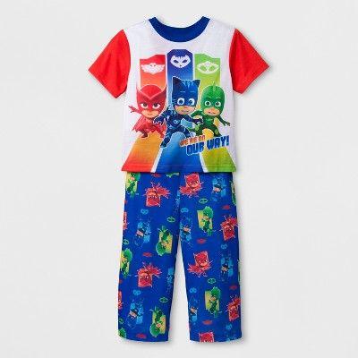 Toddler Boys' PJ Masks 2pc Cotton Pajama Set - Red 4T : Target