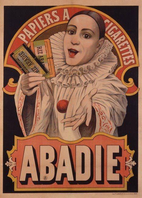 Papier à cigarettes... Abadie.