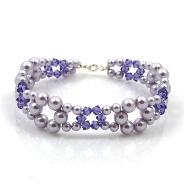 Lucky pearl bracelet