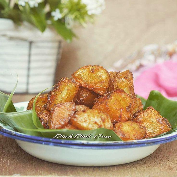 Diah Didi's Kitchen: Singkong Balado