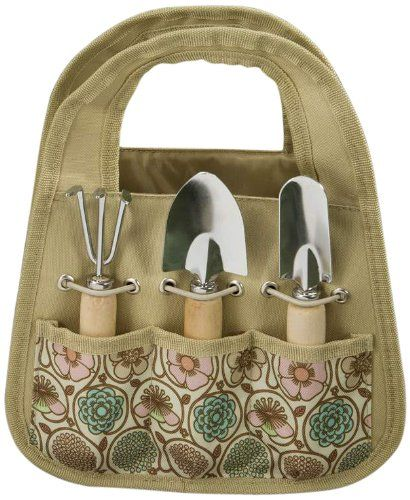 17 best images about designer garden tool bags on for Gardening tools gift set