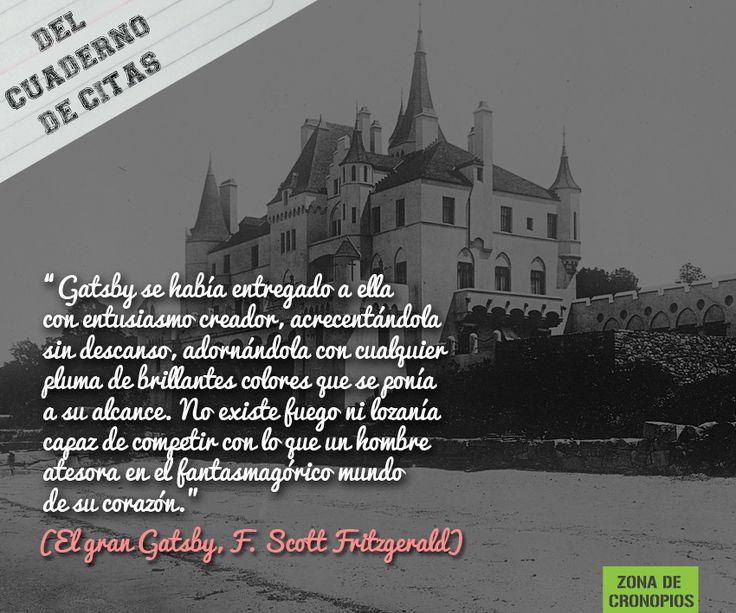 Del cuaderno de citas: El gran Gatsby http://zonadecronopios.wordpress.com/2014/09/09/del-cuaderno-de-citas-el-gran-gatsby/