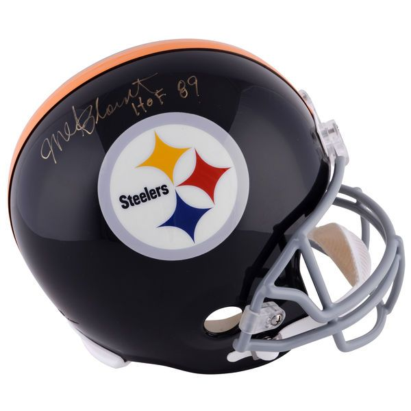 Mel Blount Pittsburgh Steelers Fanatics Authentic Autographed Riddell Pro-Line Helmet with HOF 89 Inscription - $319.99