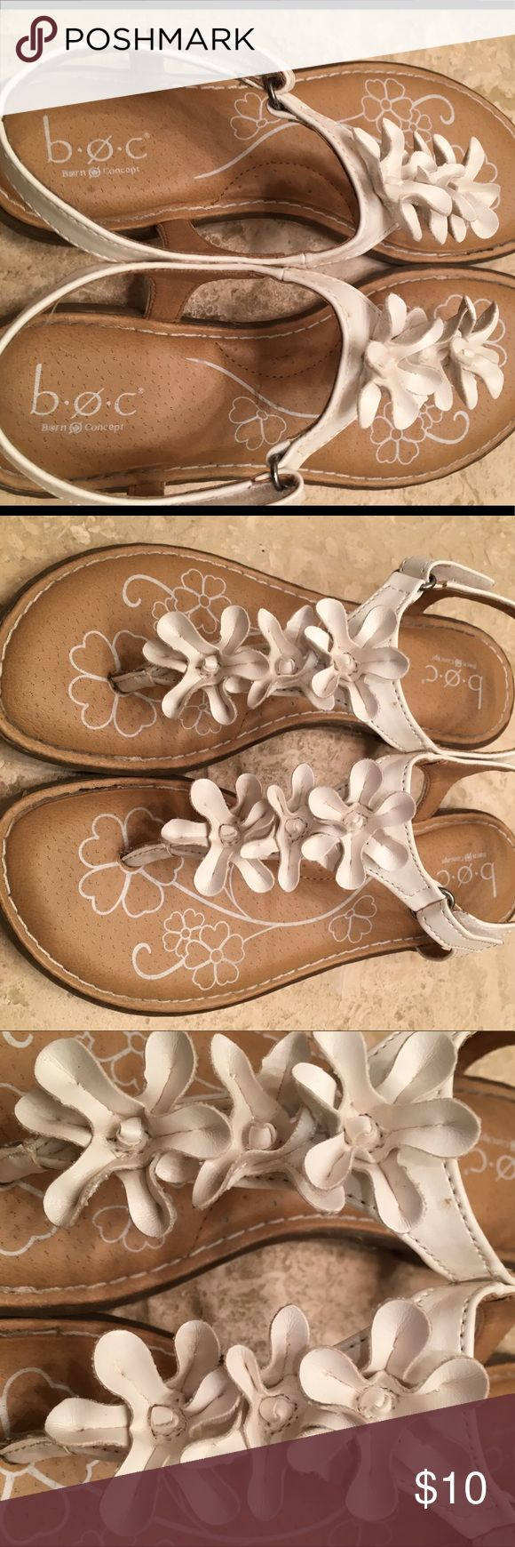 Born B.O.C. Very cute Flower Sandals! Super cute! Excellent condition! Born Shoes Sandals & Flip Flops